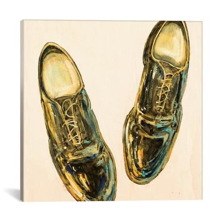 "The Shoe Fits I // Peter Kuttner (18""W x 18""H x 0.75""D)"