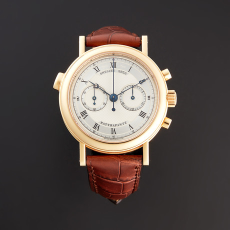 Breguet Classique Chronograph Rattrapante Manual Wind // 3947BA/12/2VU // Store Display