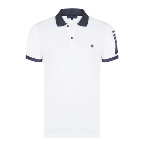 Eric SS Polo Shirt // White (XS)