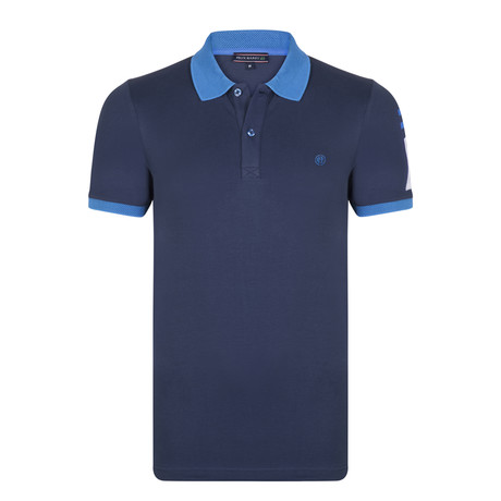 Jimmy SS Polo Shirt // Navy (XS)