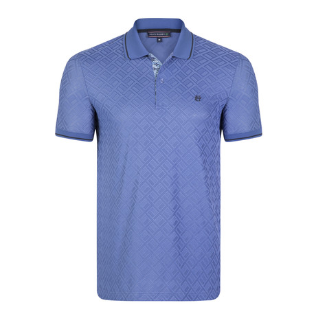 Lee SS Polo Shirt // Blue (XS)
