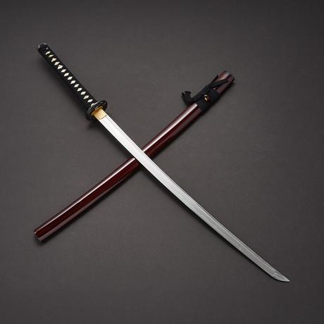 Musashi Dragon Katana (Burgundy)