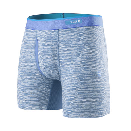 Weaver Boxer Briefs // Blue (S)