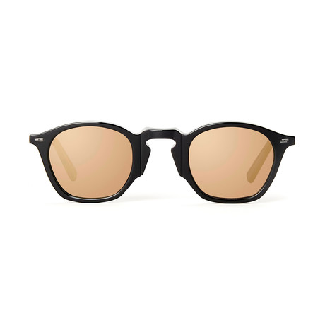Impossible Collection 415 Unisex Sunglasses // Black + Flash Bronze