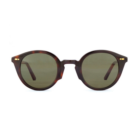 Impossible Collection 315R Unisex Sunglasses // Dark Havana + Green
