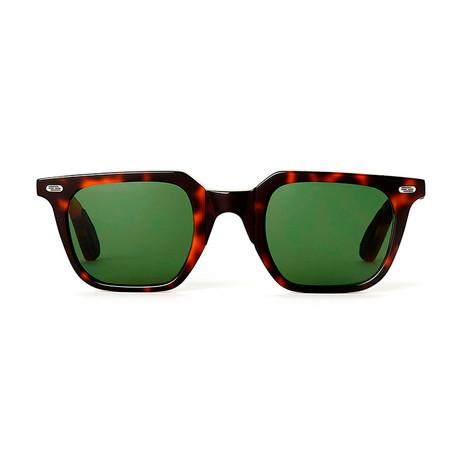 Laudo Collection Marconi // Dark Havana + Green Lenses