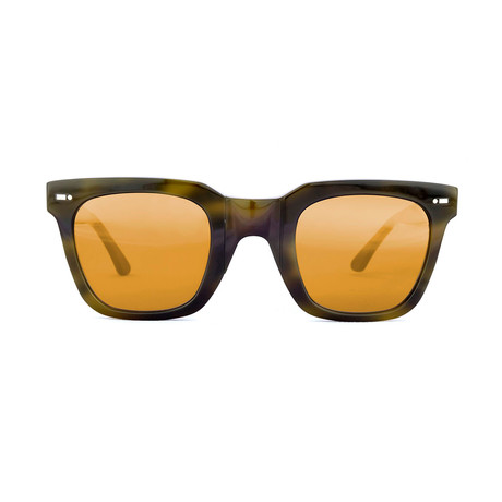 Impossible Collection 515 Unisex Sunglasses // Green Havana + Flash Bronze