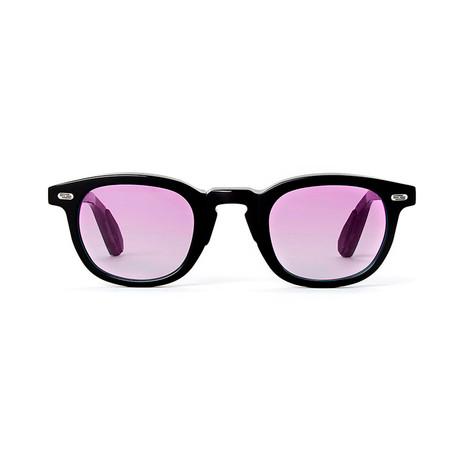 Laudo Collection Vinci // Black + Gradient Purple Lenses