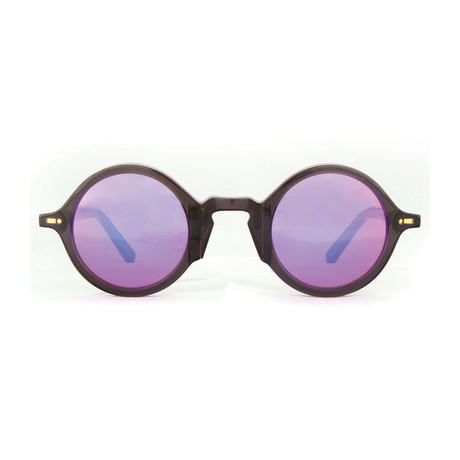 Impossible Collection 215R Unisex Sunglasses // Crystal Black + Flash Pink