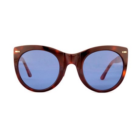 Impossible Collection 615 // Dark Havana + Blue Lenses