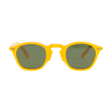 Impossible Collection 415 Unisex Sunglasses // Yellow + Green