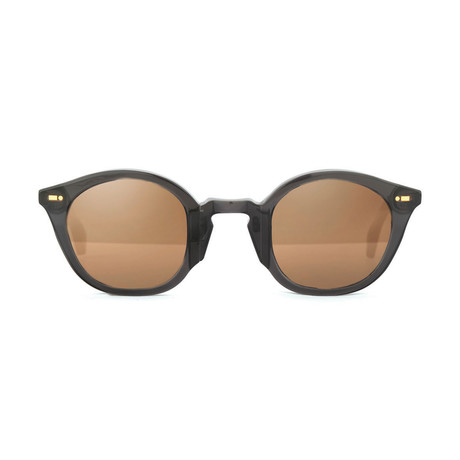 Impossible Collection 115R Unisex Sunglasses // Crystal Black + Flash Bronze