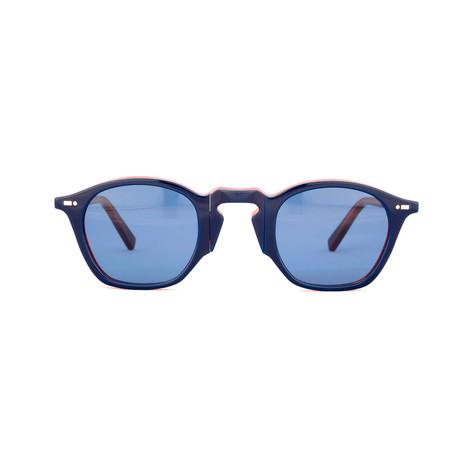 Impossible Collection 415 // Bicolor Blue Havana + Blue Lenses