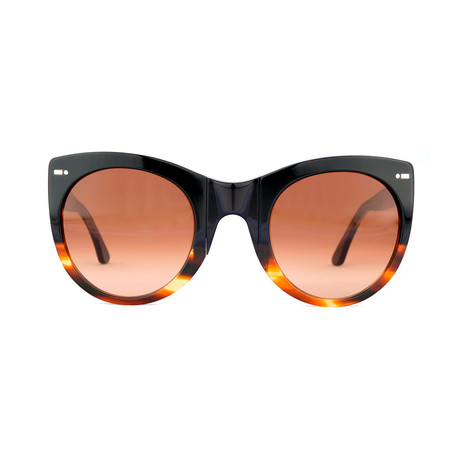 Impossible Collection 615 // Bicolor Black Havana + Gradient Brown Lenses