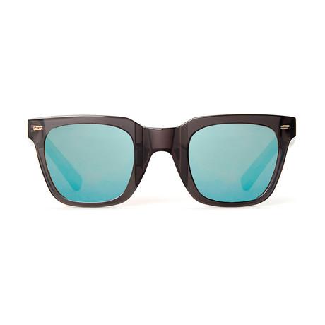 Impossible Collection 515 // Black + Super Blue Lenses