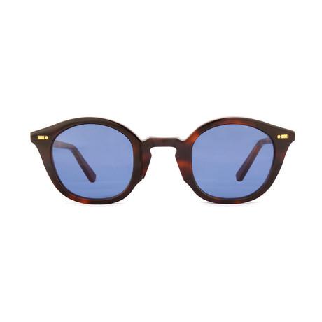 Impossible Collection 115R // Dark Havana + Blue Lenses