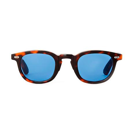Laudo Collection Vinci // Dark Havana + Blue Lenses