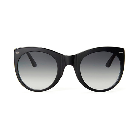 Impossible Collection 615 Unisex Sunglasses // Black + Gradient Gray