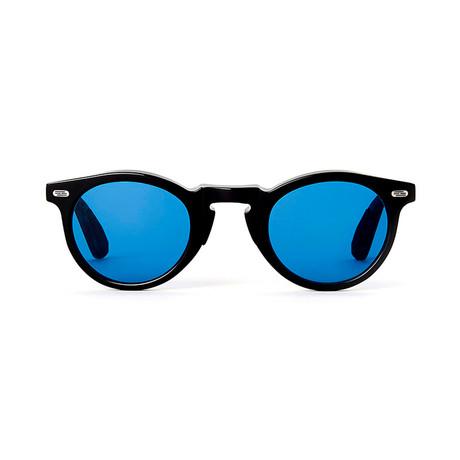 Laudo Collection Volta // Black + Blue Lenses