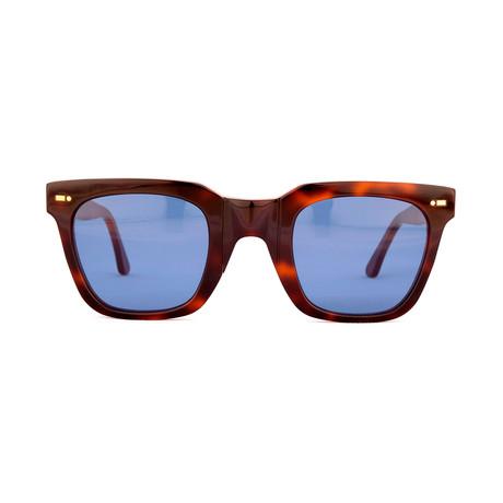 Impossible Collection 515 // Dark Havana + Blue Lenses