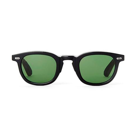 Laudo Collection Vinci // Black + Green Lenses
