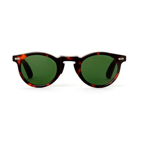 Laudo Collection Volta // Dark Havana + Green Lenses