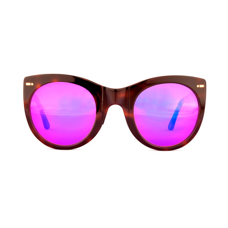 Impossible Collection 615 Unisex Sunglasses // Dark Havana + Flash Pink