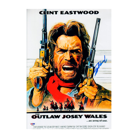 Clint Eastwood Outlaw Josey Whales