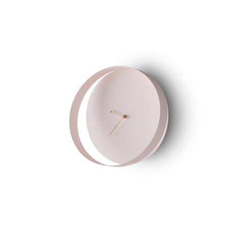 Orbis // Wall Clock (Pastel Pink)