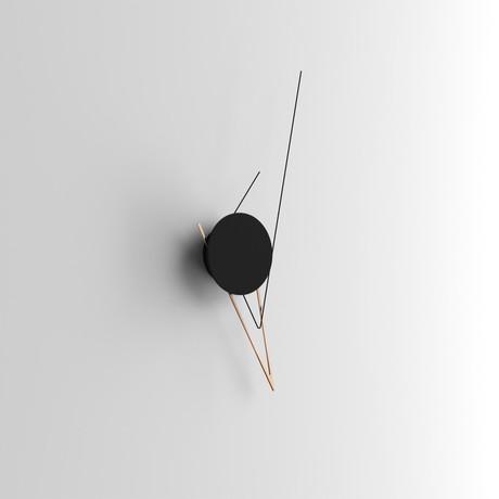 Silo // Wall Clock (Silver)