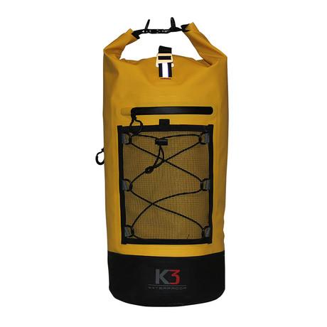 Poseidon Dry Bag Backpack // 20 Liter (White)