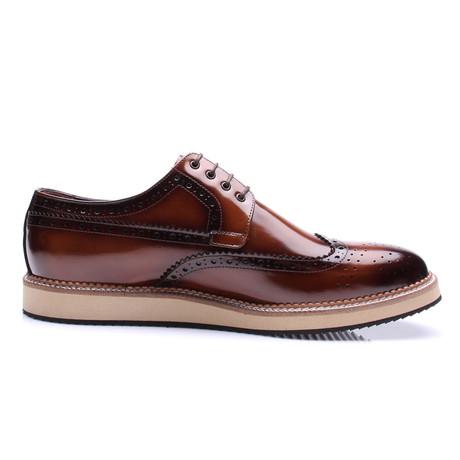 Wing-Tip Dress Shoe // Tobacco (Euro: 40)