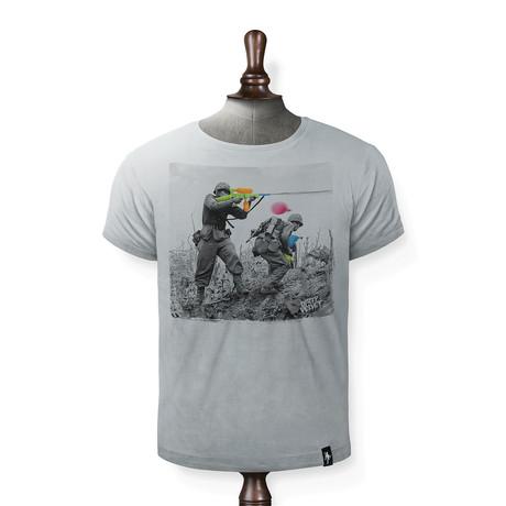 Water Fight T-shirt // Highrise Gray (XS)