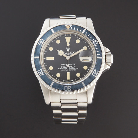 Rolex Submariner Automatic // 1680 // 3 Million Serial // Pre-Owned