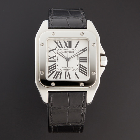 Cartier Santos 100 Large Automatic // W20073X8 // Pre-Owned