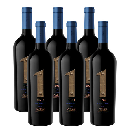 Antigal Uno Red Blend 2016  //  Set of 6