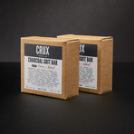 Charcoal Grit Bar // Set of 2