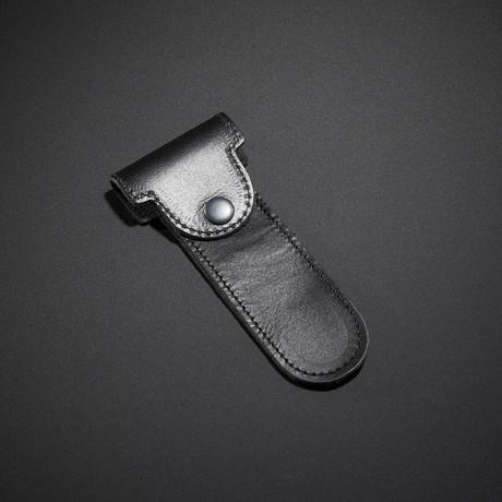 Leather Razor Pouch