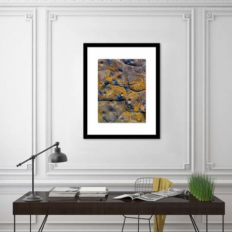 "Rock Wall Framed Wall Art // I (12""W x 16""H x 1""D)"