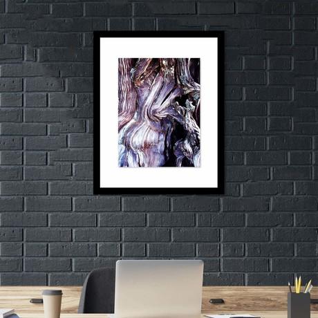 "Abstract Wood Framed Wall Art (12""W x 16""H x 1""D)"