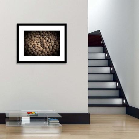 "Pebbles Framed Wall Art (12""W x 16""H x 1""D)"