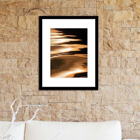 """Light on The Water Framed Wall Art (12""""W x 16""""H x 1""""D)"""