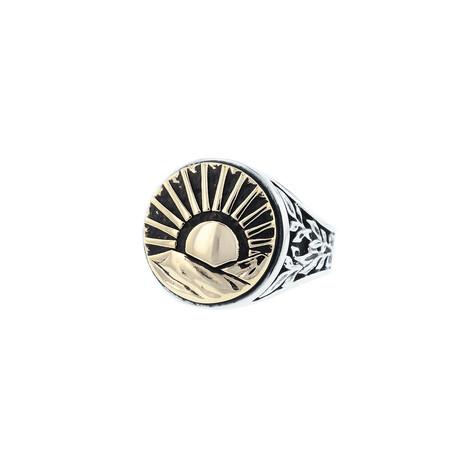 Sun Signet Ring (Size 8)