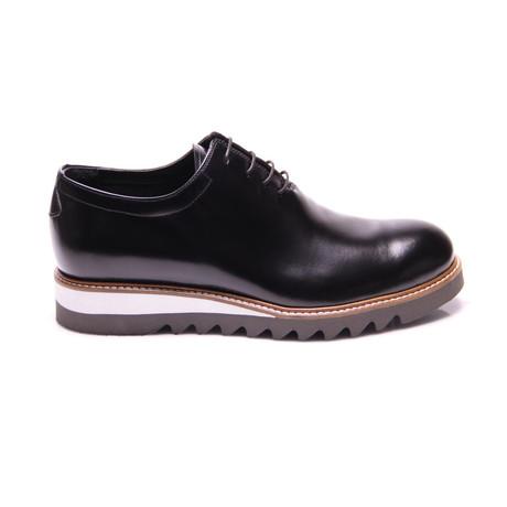 Plain Toe Oxford // Black (Euro: 40)