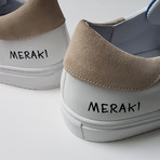 Meraki Step One Sneakers // White + Tan (US: 9.5)