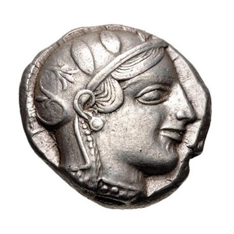 Athens, Greece, c. 454-404 BC // Silver Coin // Athena & Owl