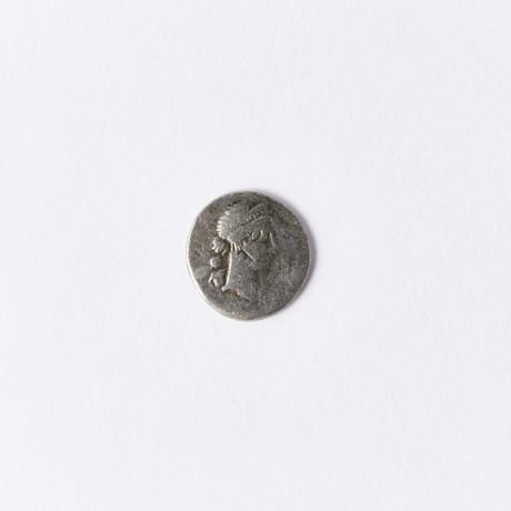 Julius Caesar // Rare Silver Coin Struck 46-45 BC