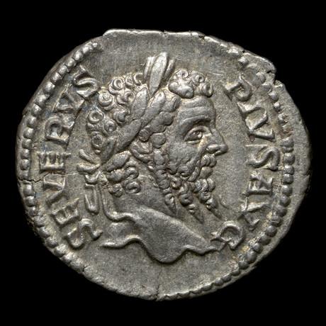 Ancient Rome. Septimius Severus, 193-211 AD // Silver denarius