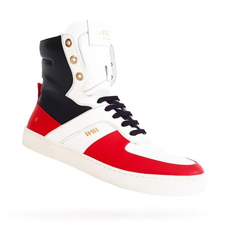 Ginza Daavi X WAU Sneakers // Black + Red (US: 7)