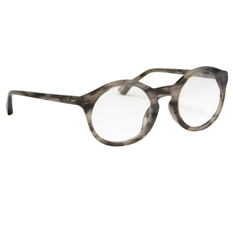 DVN64C9OPT // STRIPED HORN OPTICAL FRAMES